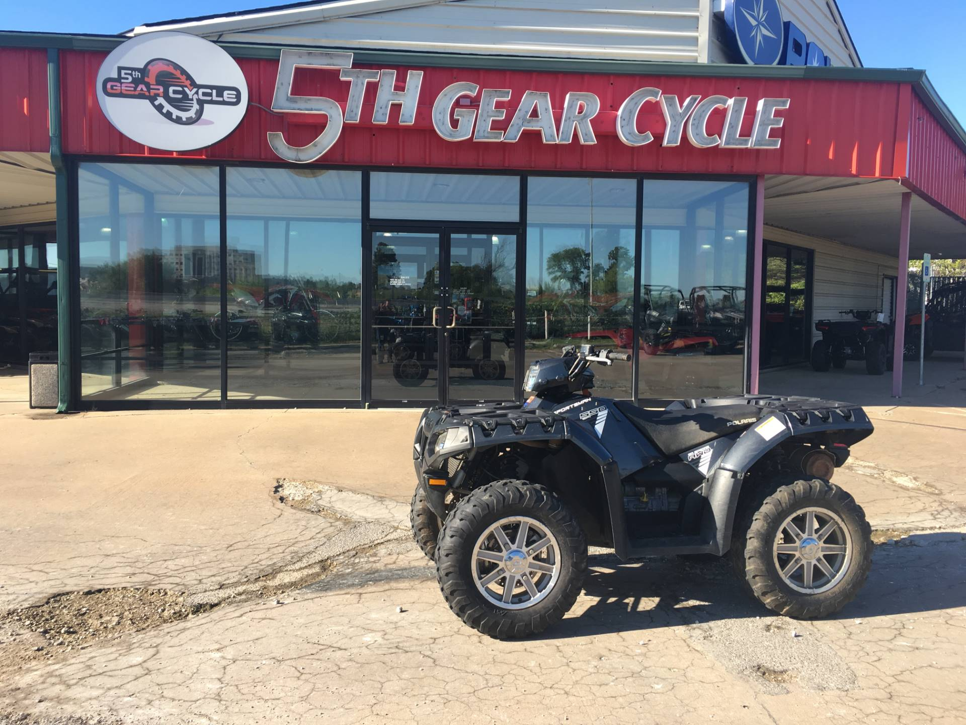Used 2014 Polaris Sportsman® 550 EPS ATVs in Broken Arrow, OK ...