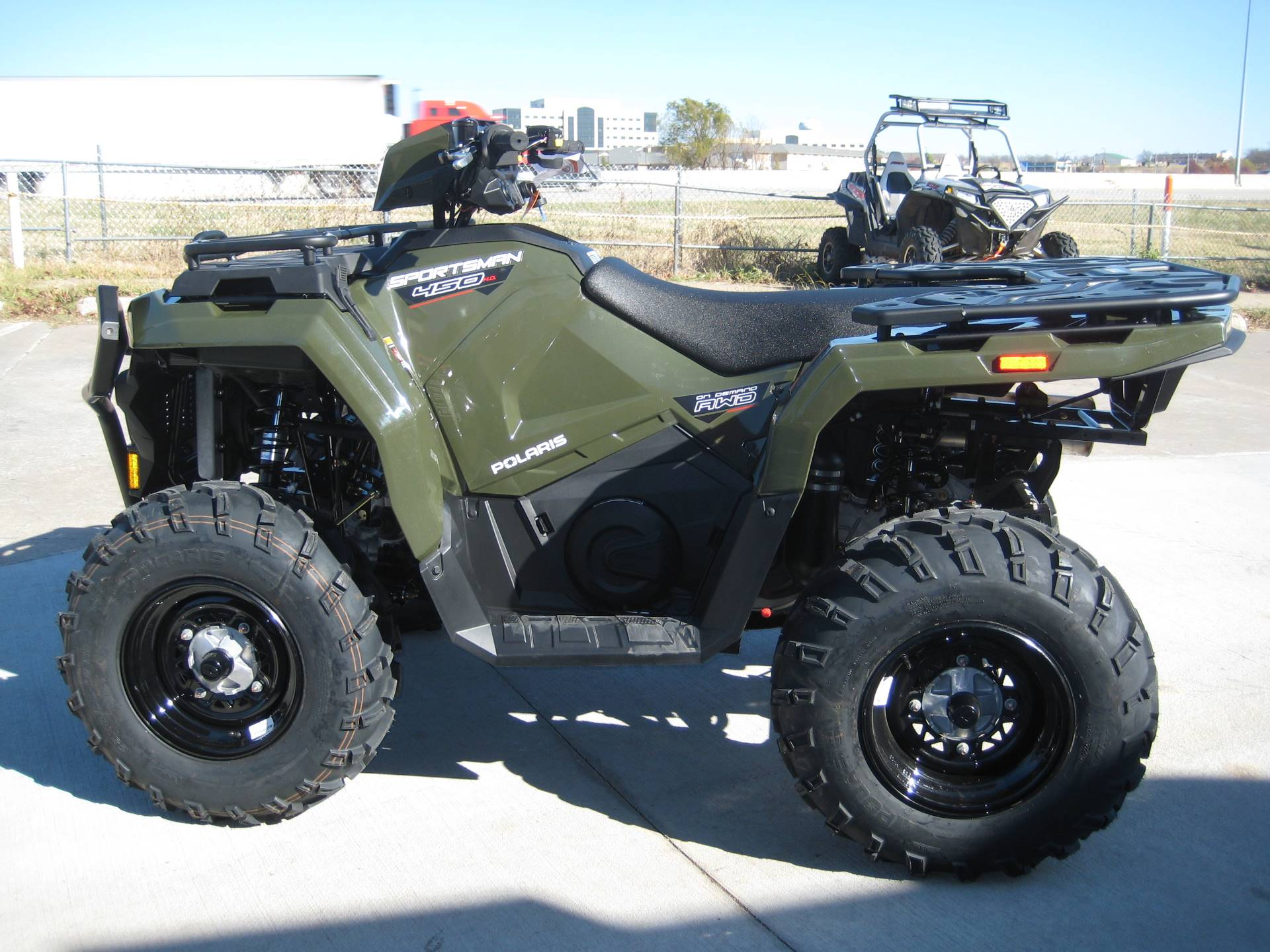 2021 Polaris Sportsman 450 H.O. Utility Package in Broken Arrow, Oklahoma - Photo 1