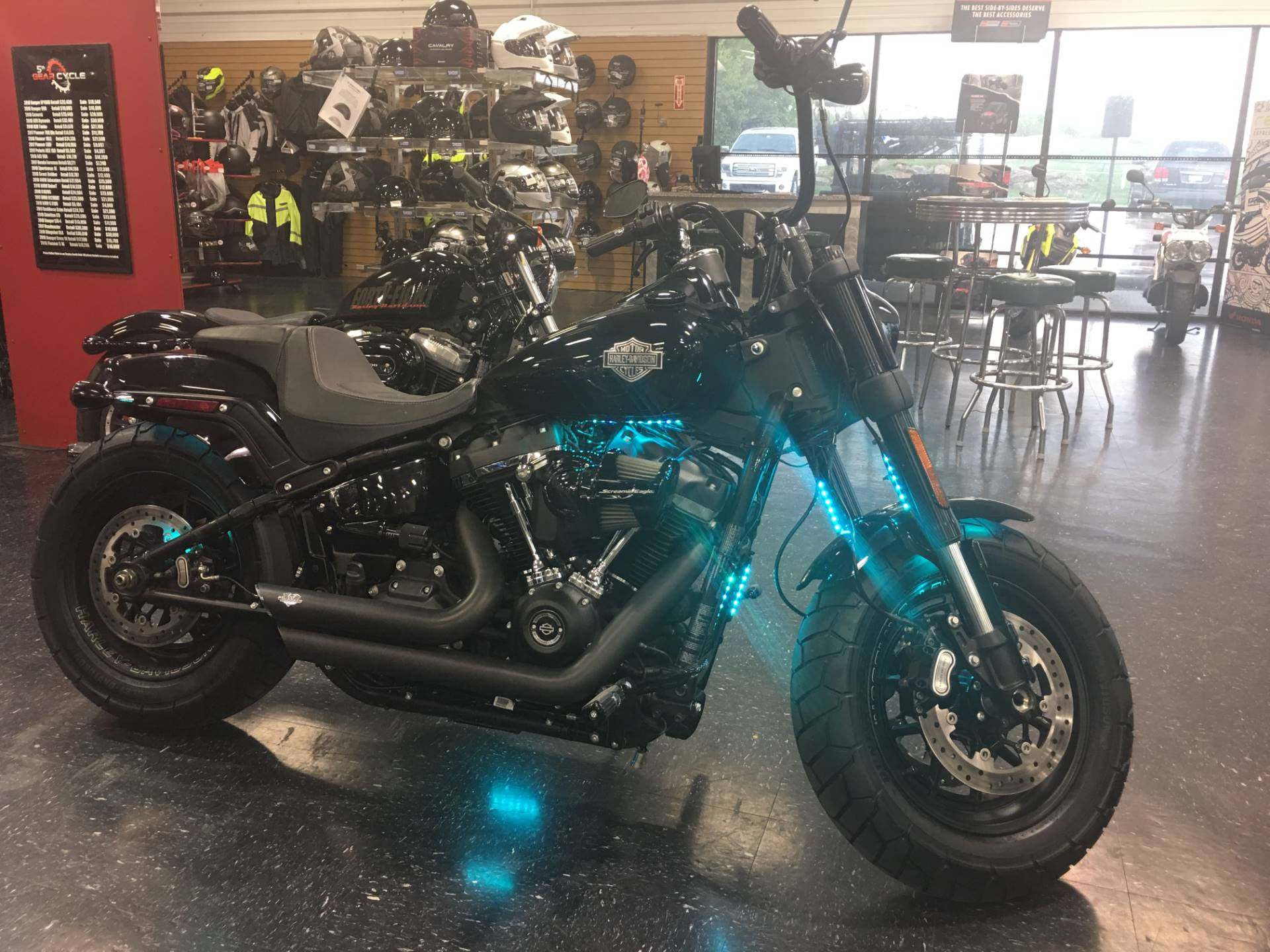 Used 2018 Harley-Davidson Fat Bob® 114 Motorcycles in Broken Arrow, OK Outside the Tulsa Metro ...