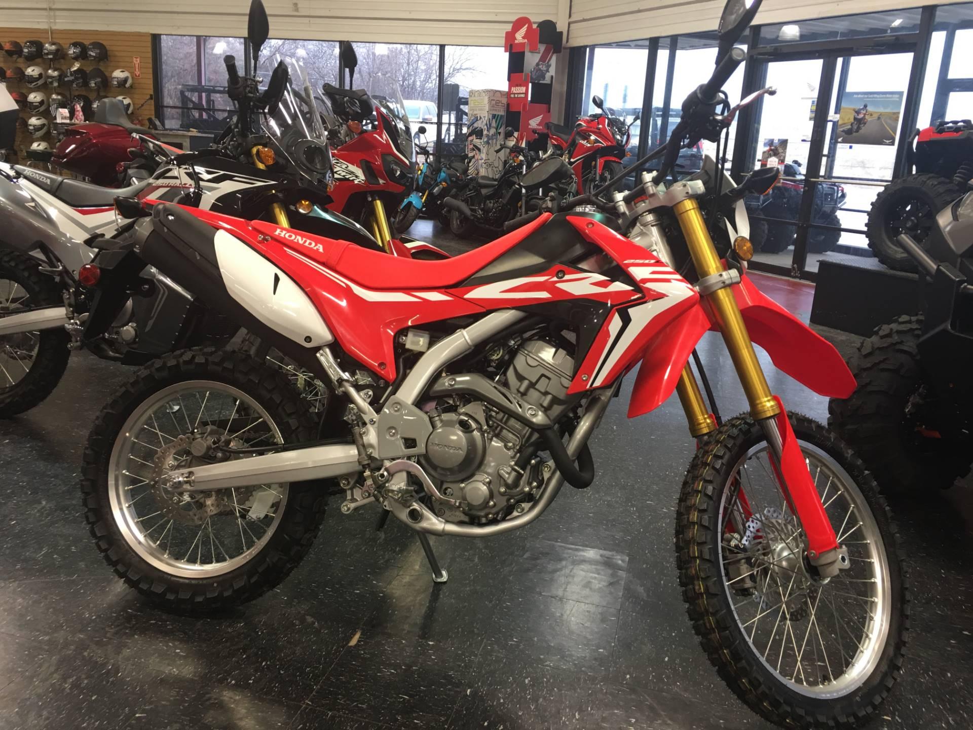New 2018 Honda CRF250L Motorcycles in Broken Arrow, OK Outside the Tulsa Metro | Stock Number ...