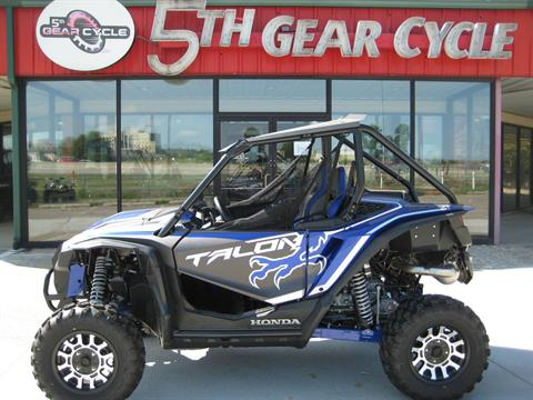 2019 Honda Talon 1000X in Broken Arrow, Oklahoma - Photo 1