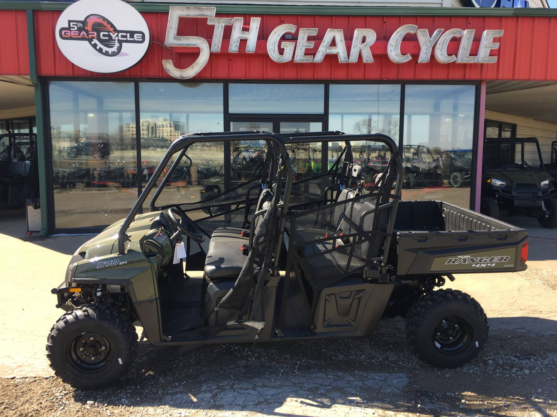 2019 Polaris Ranger Crew 570-6 in Broken Arrow, Oklahoma - Photo 2