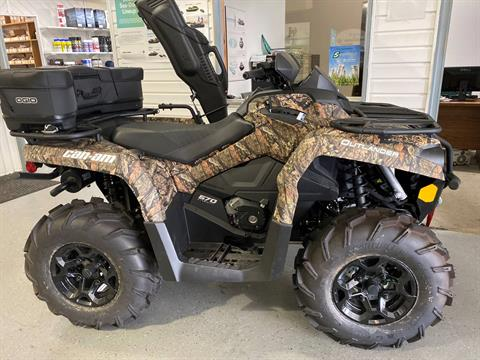 2019 Can-Am Outlander 570 Mossy Oak Hunting Edition in Virginia Beach, Virginia