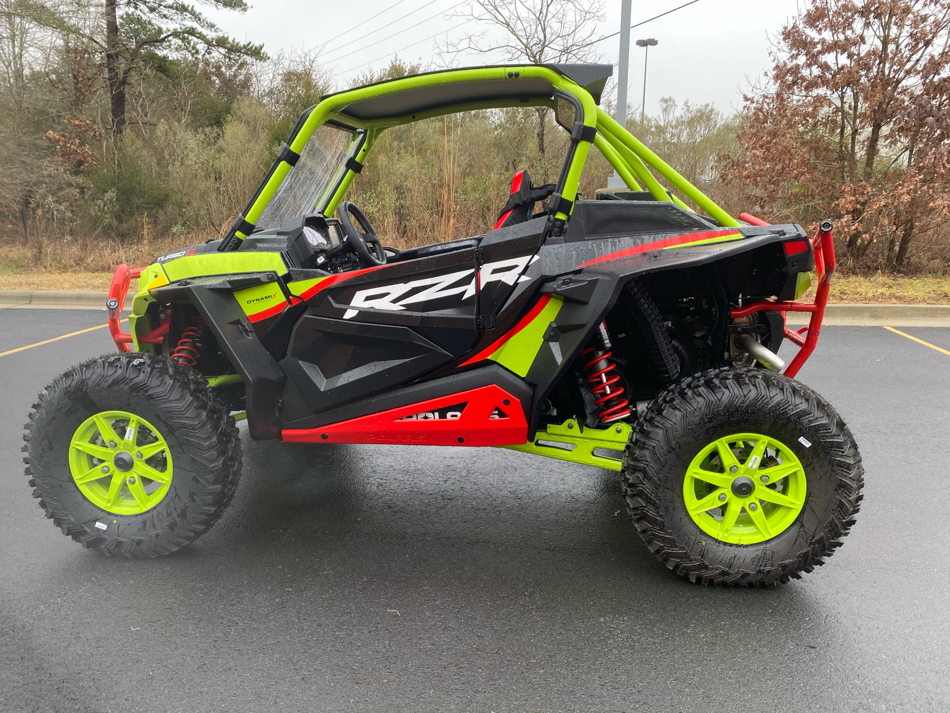 2021 Polaris RZR Turbo S Lifted Lime LE in Albemarle, North Carolina - Photo 8