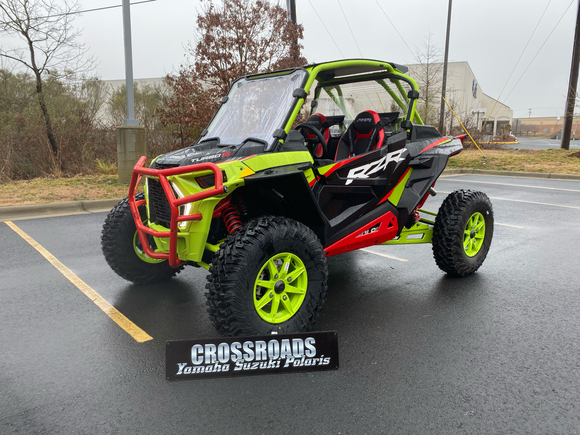2021 Polaris RZR Turbo S Lifted Lime LE in Albemarle, North Carolina - Photo 1