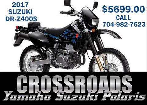 2017 Suzuki DR-Z400S in Albemarle, North Carolina