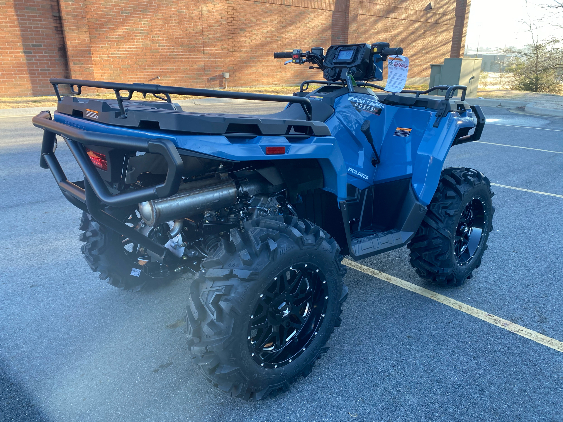 2021 Polaris Sportsman 450 H.O. in Albemarle, North Carolina - Photo 6