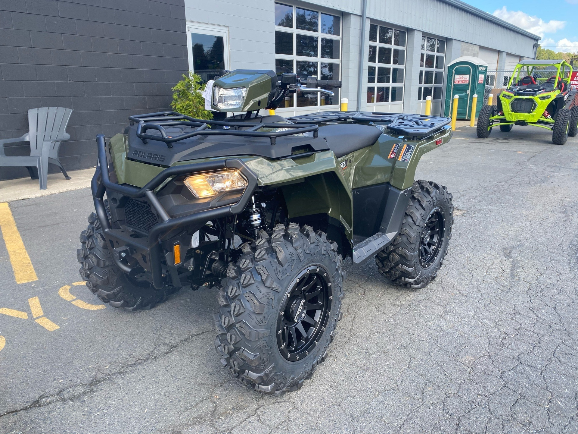 2021 Polaris Sportsman 450 H.O. Utility Package in Albemarle, North Carolina - Photo 2