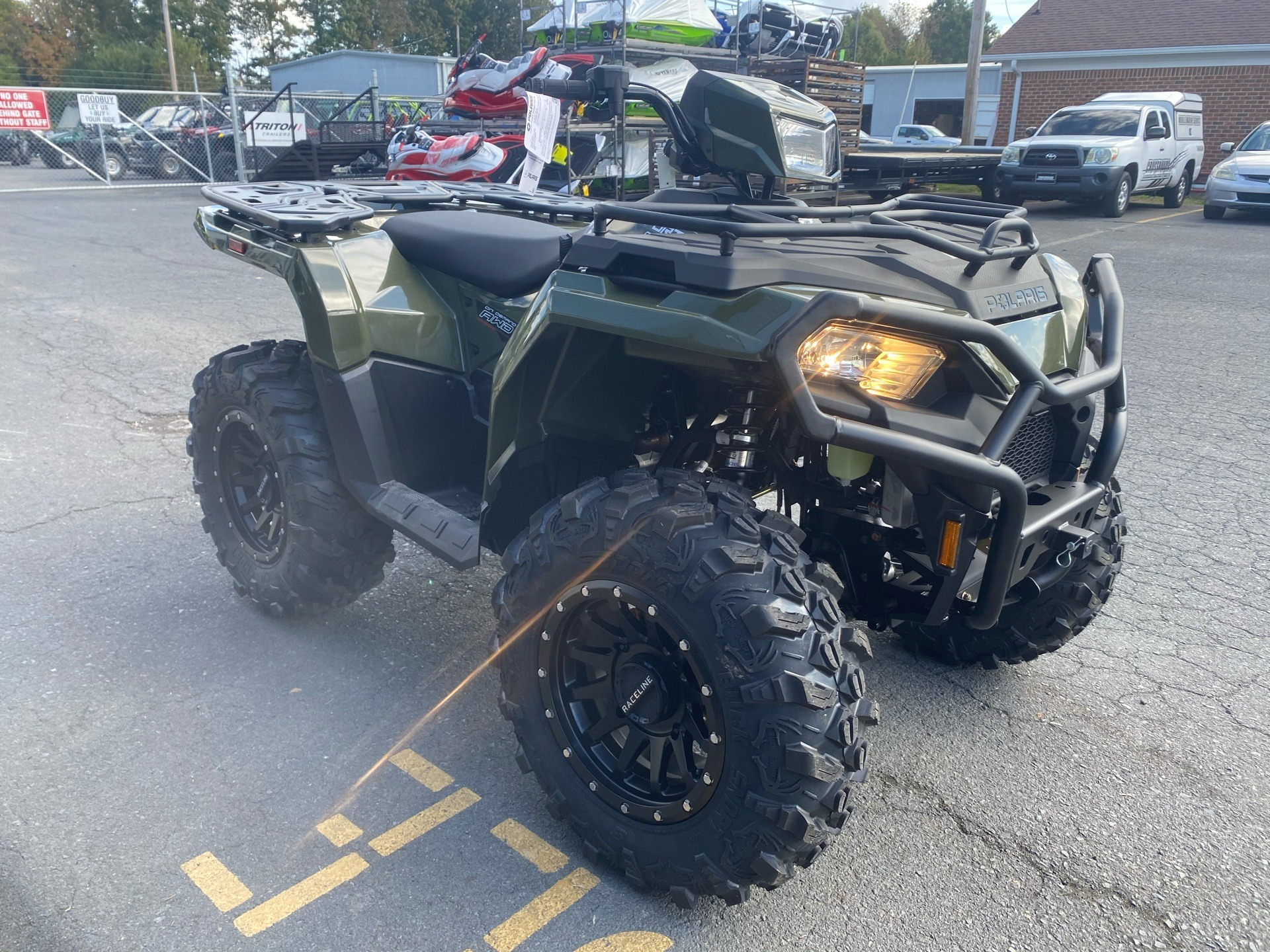 2021 Polaris Sportsman 450 H.O. Utility Package in Albemarle, North Carolina - Photo 4