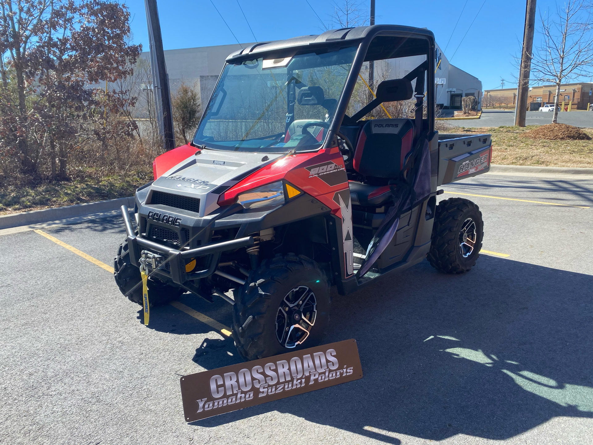 2015 Polaris Ranger XP® 900 EPS in Albemarle, North Carolina - Photo 1