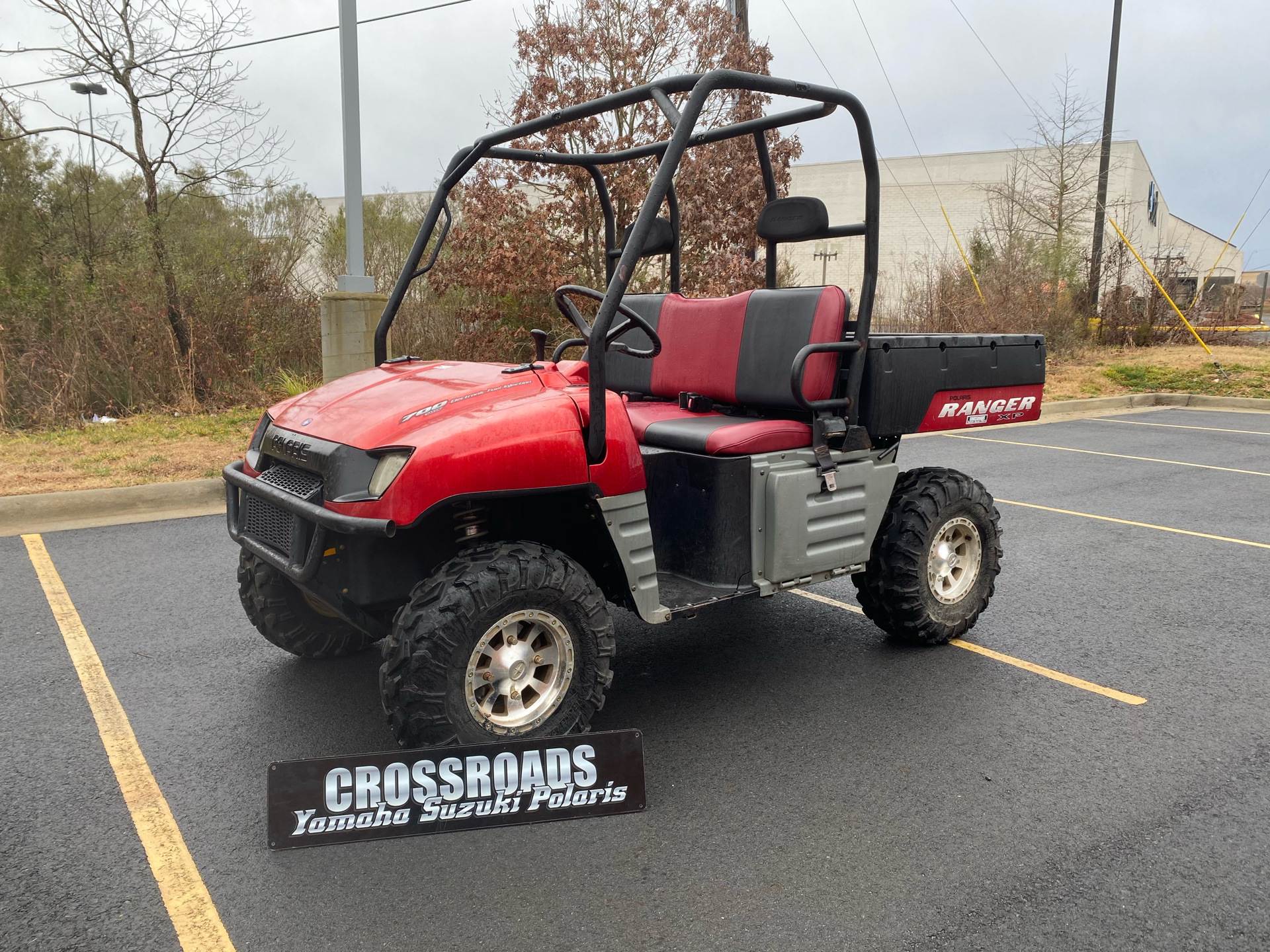2007 Polaris Ranger XP Midnight Red Limited Edition in Albemarle, North Carolina - Photo 1