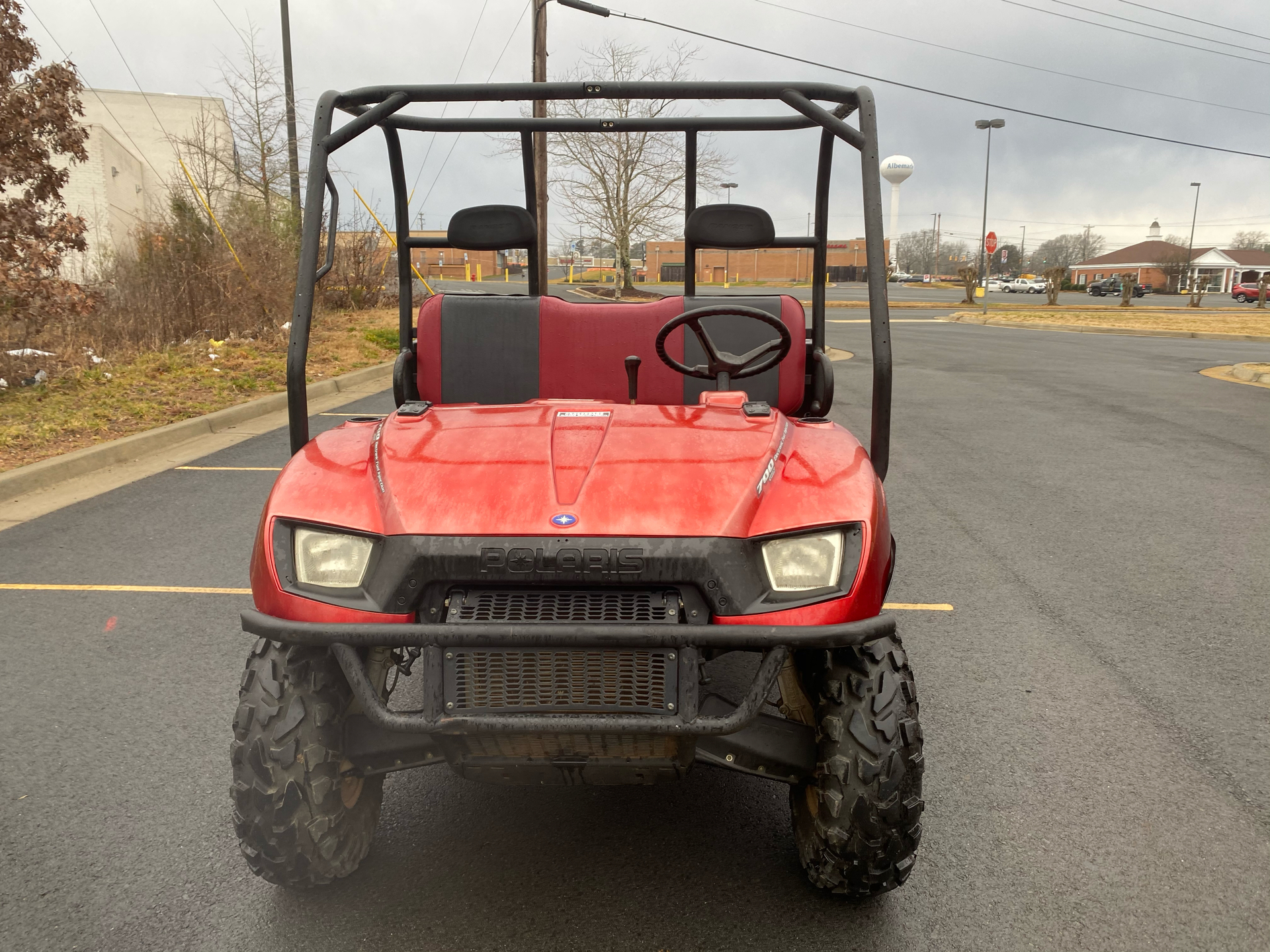 2007 Polaris Ranger XP Midnight Red Limited Edition in Albemarle, North Carolina - Photo 3