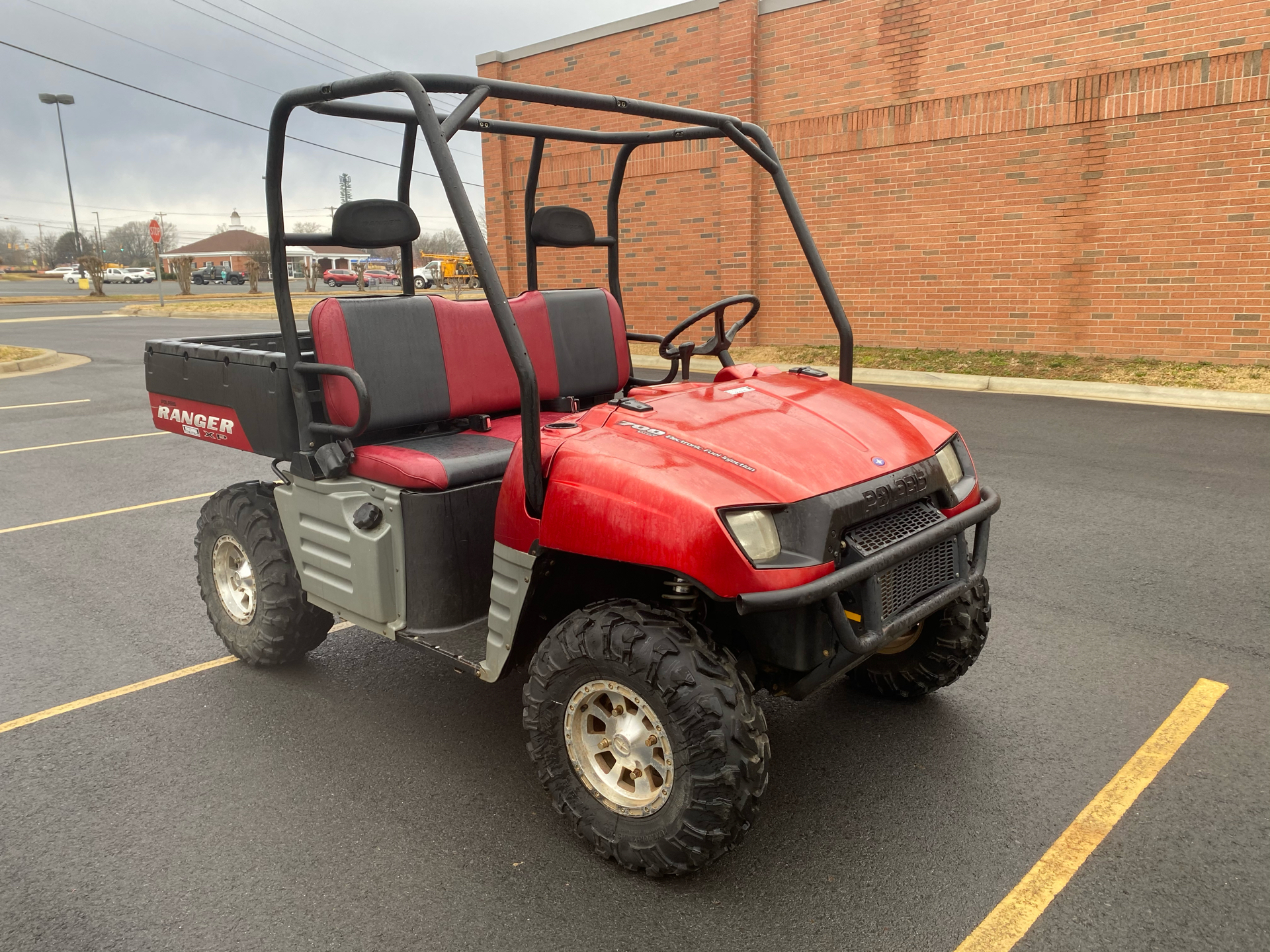 2007 Polaris Ranger XP Midnight Red Limited Edition in Albemarle, North Carolina - Photo 4