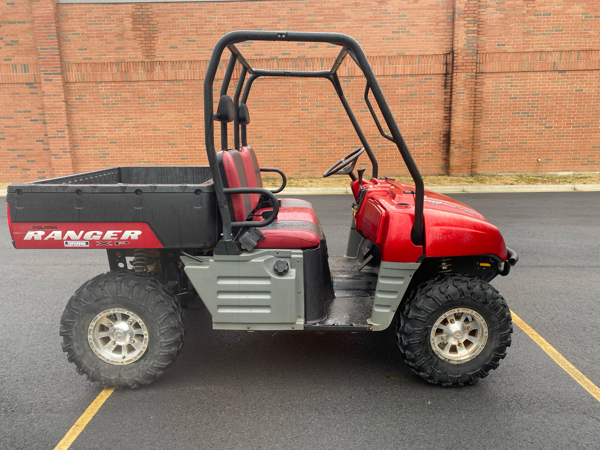 2007 Polaris Ranger XP Midnight Red Limited Edition in Albemarle, North Carolina - Photo 5