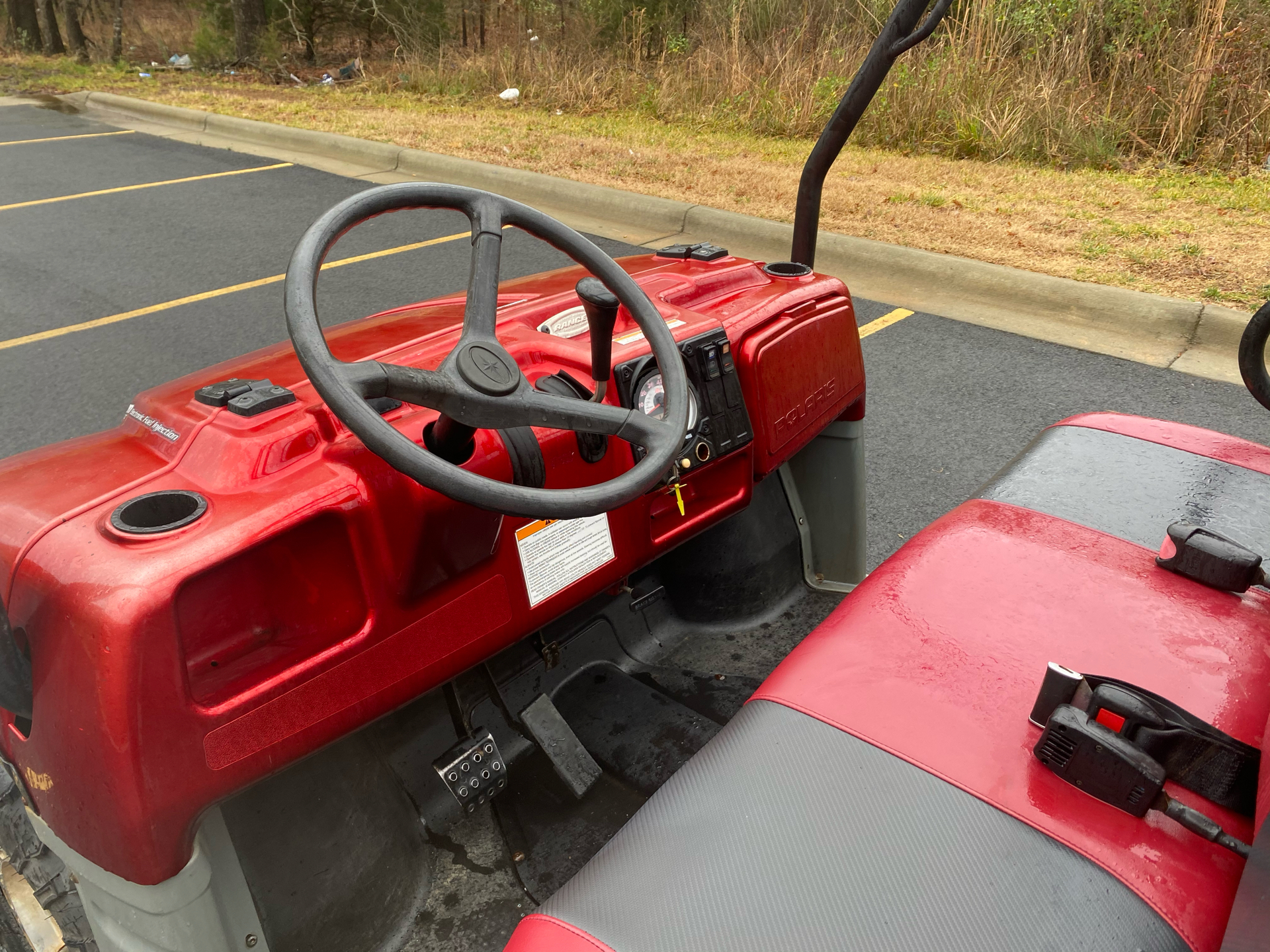 2007 Polaris Ranger XP Midnight Red Limited Edition in Albemarle, North Carolina - Photo 8