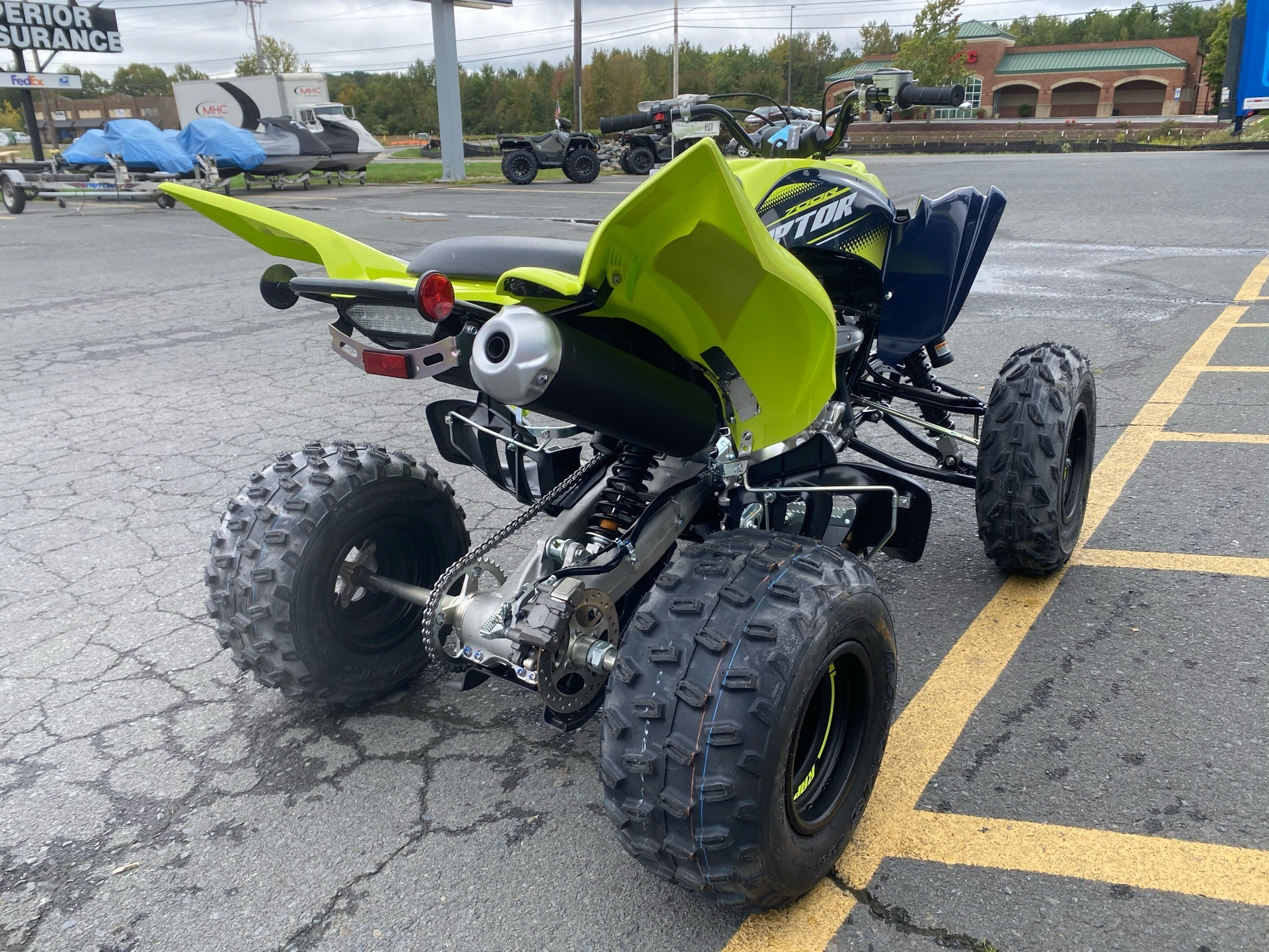 2020 Yamaha Raptor 700R SE in Albemarle, North Carolina - Photo 6