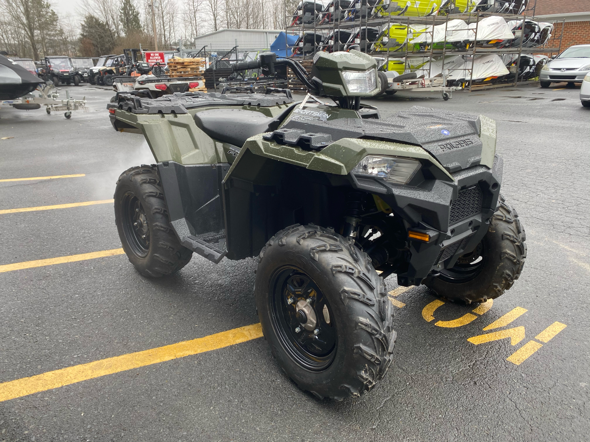 2019 Polaris Sportsman 850 in Albemarle, North Carolina - Photo 3