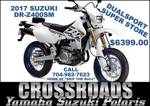 2017 Suzuki DR-Z400SM in Albemarle, North Carolina