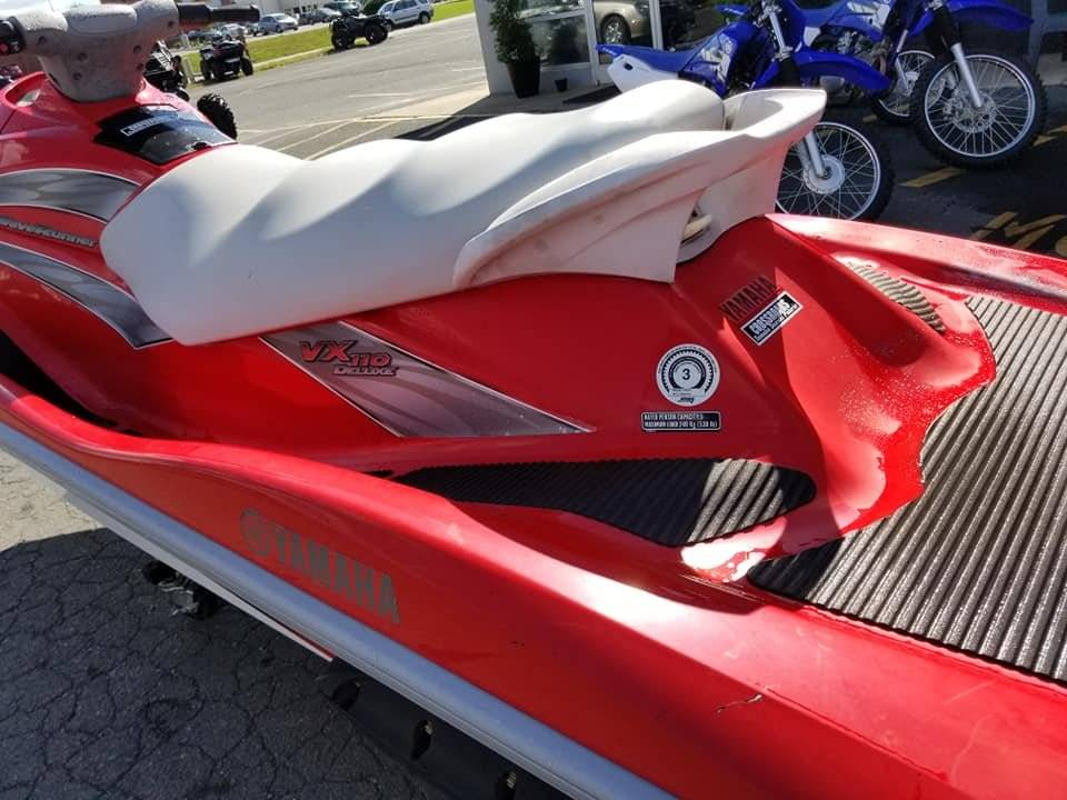 2005 Yamaha WaveRunner VX 110 Deluxe In Albemarle North Carolina