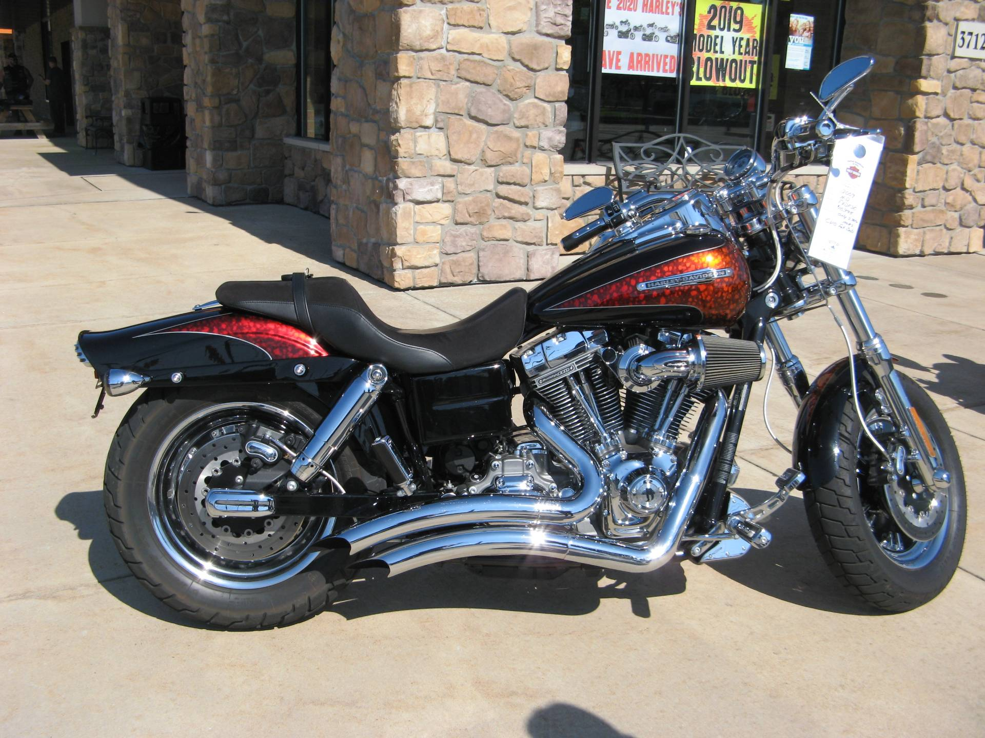 2009 Harley-Davidson CVO™ Dyna® Fat Bob® in Erie, Pennsylvania - Photo 1