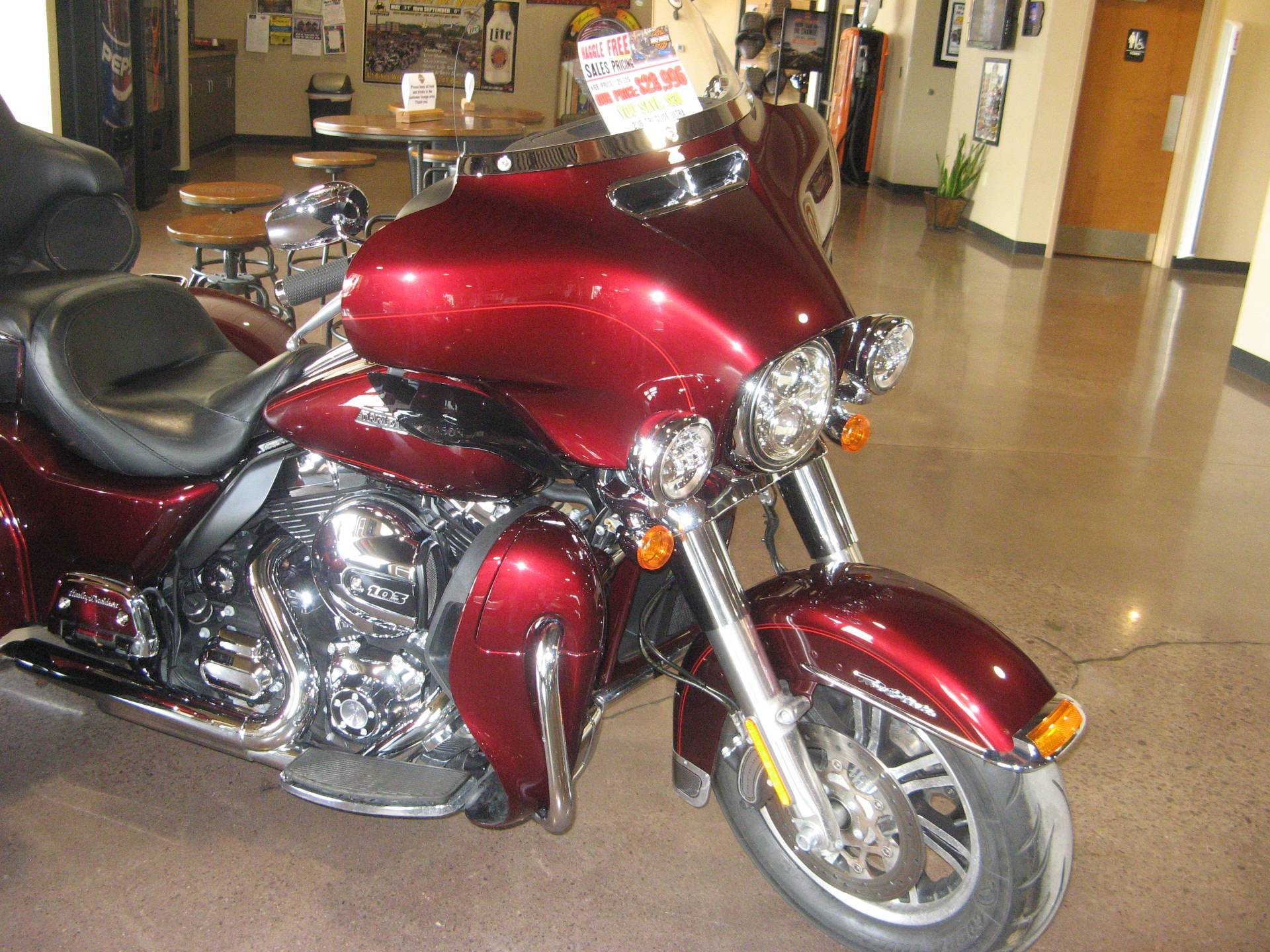 Used 2015 Harley Davidson Tri Glide Ultra Trikes In Erie Pa Tour Pack Glide174 Pennsylvania