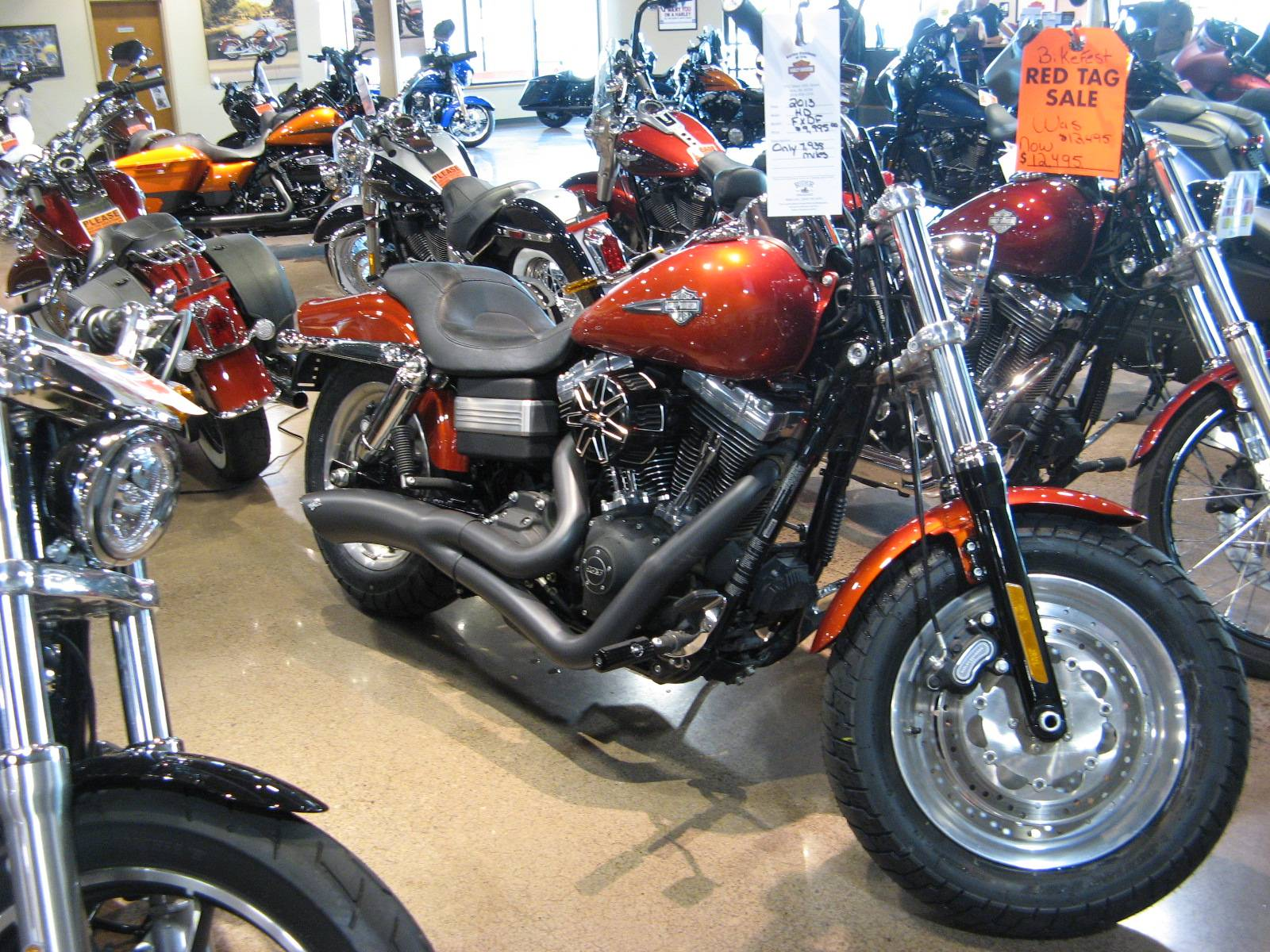 2013 Harley-Davidson Dyna® Fat Bob® in Erie, Pennsylvania - Photo 2