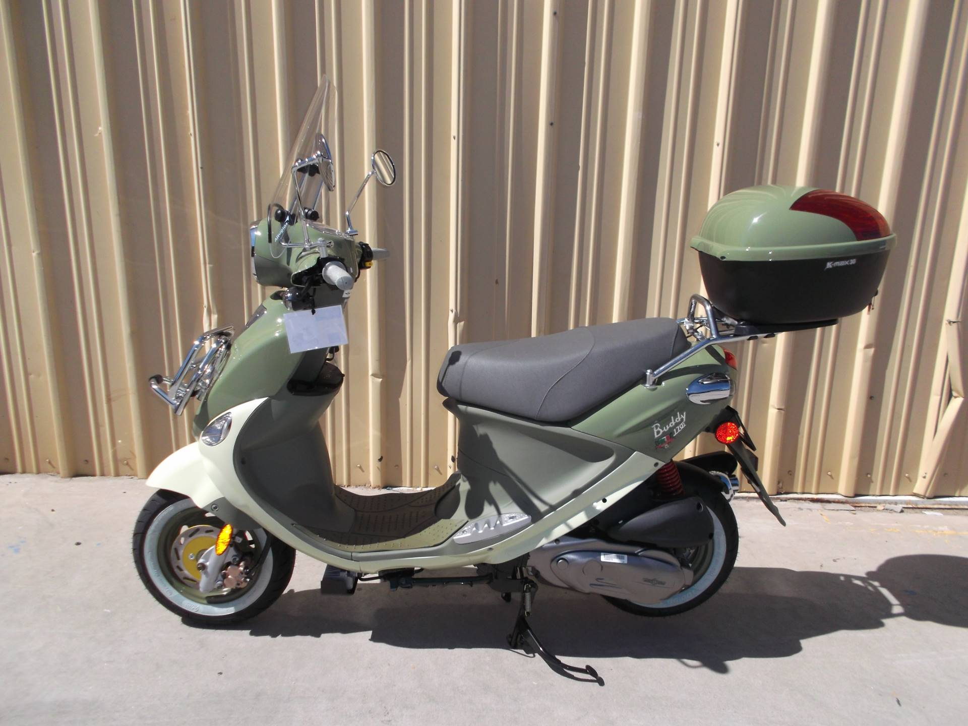 2018 Genuine Scooters Buddy 170i in Paso Robles, California - Photo 1
