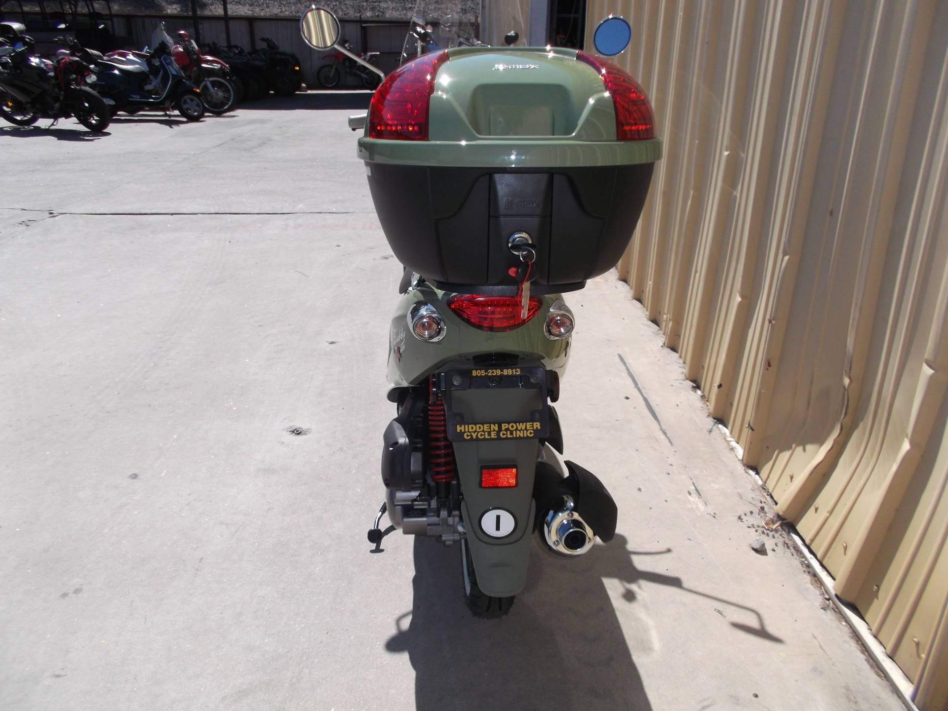 2018 Genuine Scooters Buddy 170i in Paso Robles, California - Photo 4