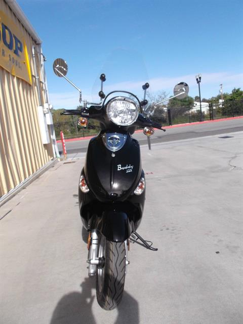 2018 Genuine Scooters Buddy 125 in Paso Robles, California - Photo 2