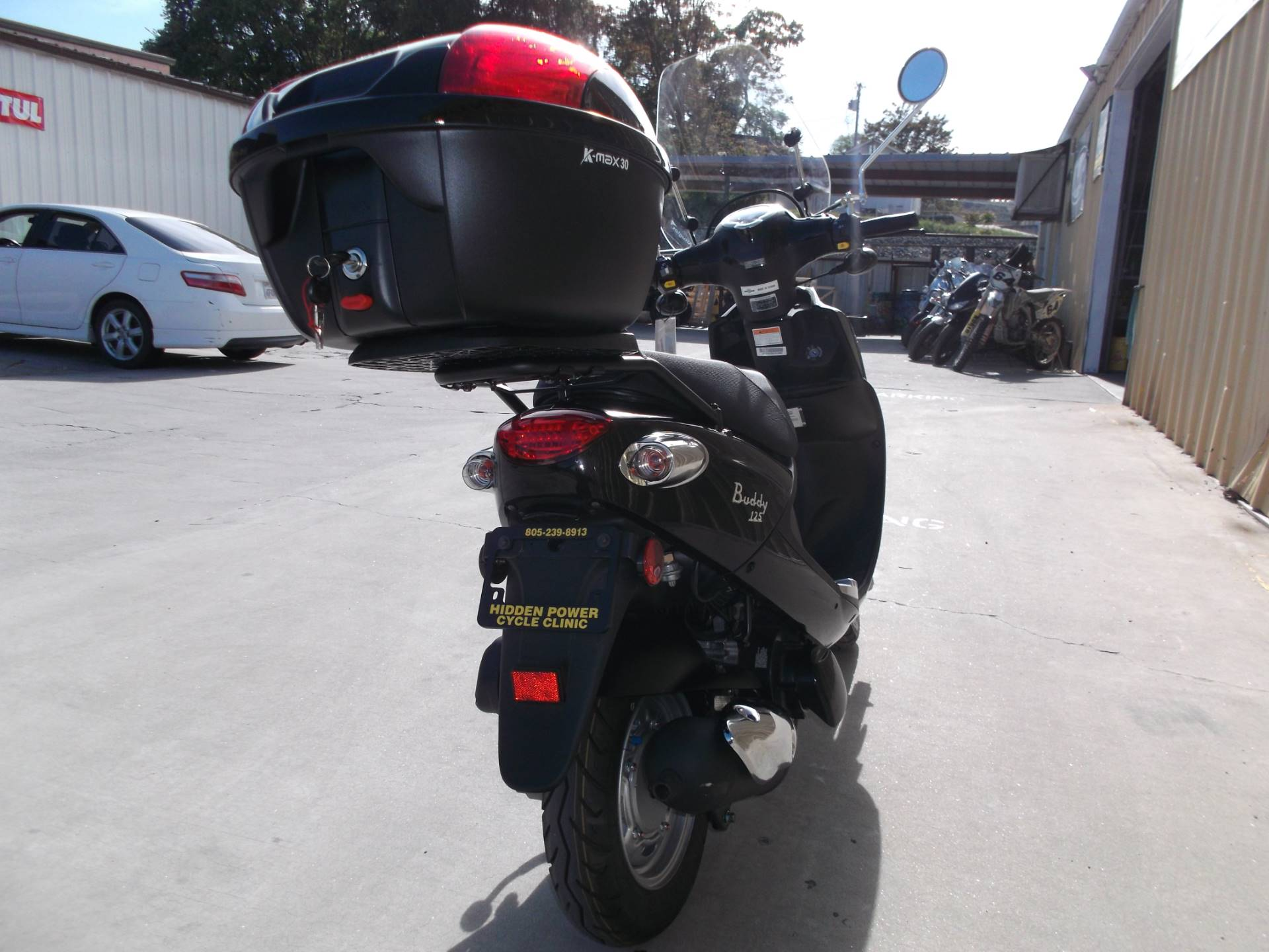 2018 Genuine Scooters Buddy 125 in Paso Robles, California - Photo 4