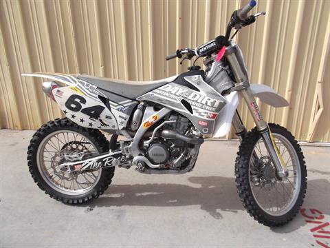 2008 Yamaha YZ250F in Paso Robles, California