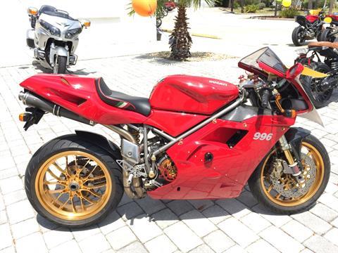 2001 Ducati 996 in Daytona Beach, Florida