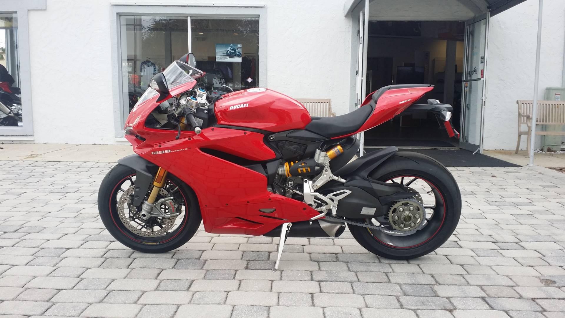 2016 Ducati 1299 Panigale S in Daytona Beach, Florida