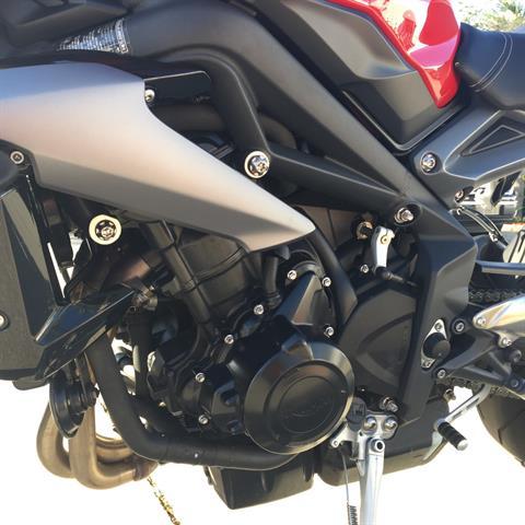 2015 Triumph Street Triple ABS in Daytona Beach, Florida