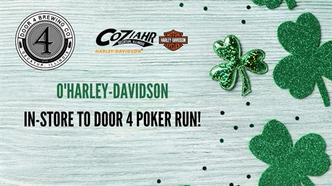 O'Harley-Davidson In-Store To Door 4 Poker Run