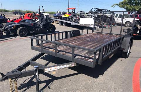 2019 Charmac Trailers 12' X 7' STEEL UTILITY SA in Paso Robles, California - Photo 1