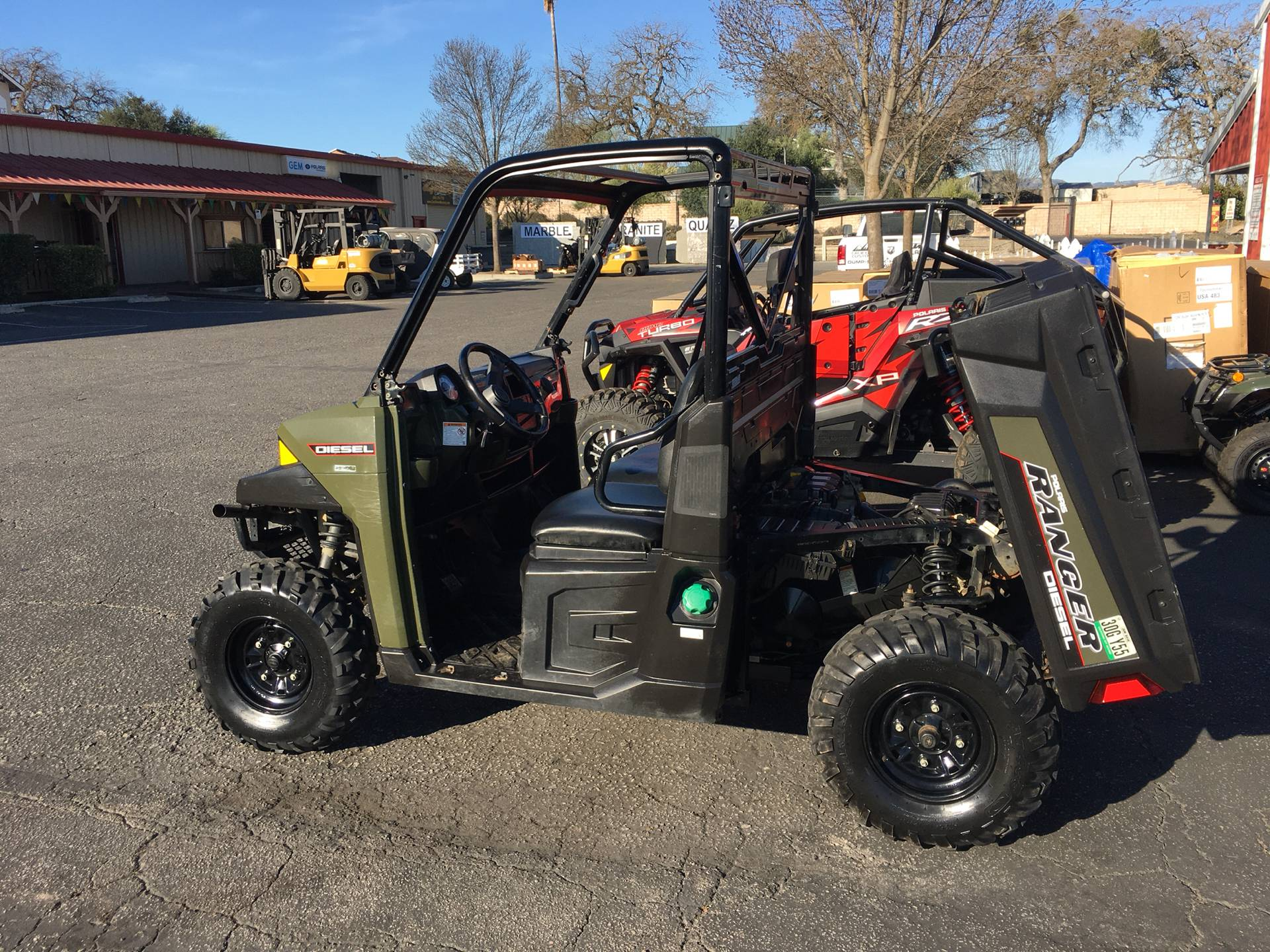 2015 Polaris Ranger® Diesel in Paso Robles, California - Photo 4