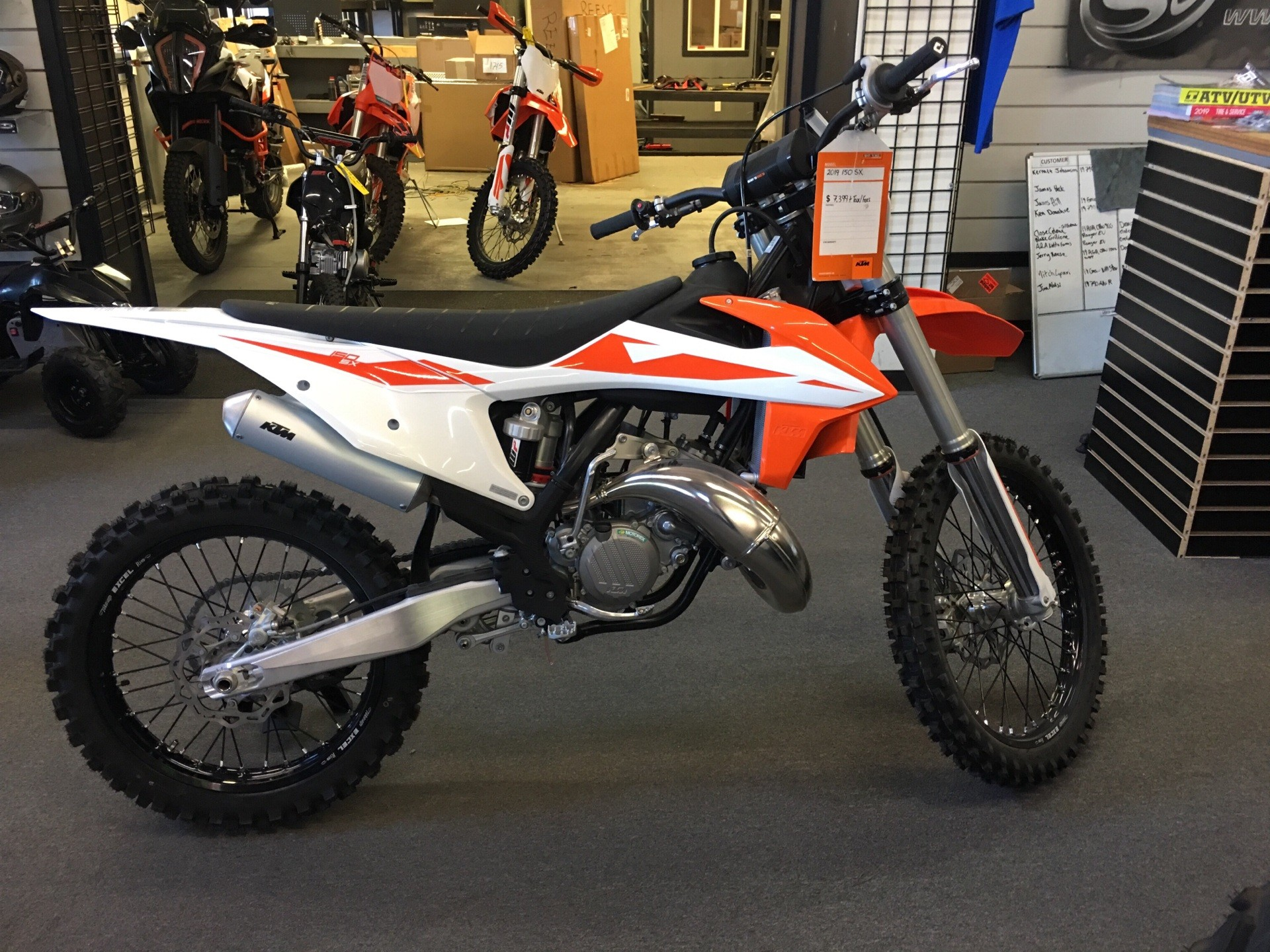 2019 KTM 150 SX in Paso Robles, California - Photo 2