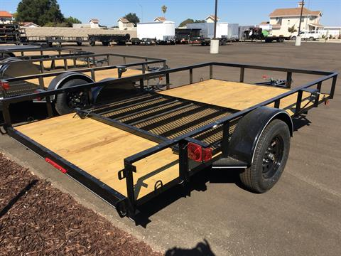 "2020 MAXXD TRAILERS 12' X 83"" SA UTILITY in Paso Robles, California - Photo 3"