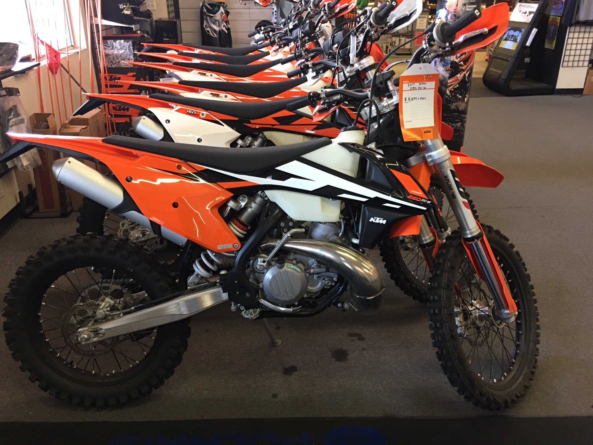 New 2017 ktm 250 xc w motorcycles in paso robles ca stock number 2017 ktm 250 xc w in paso robles california ccuart Gallery
