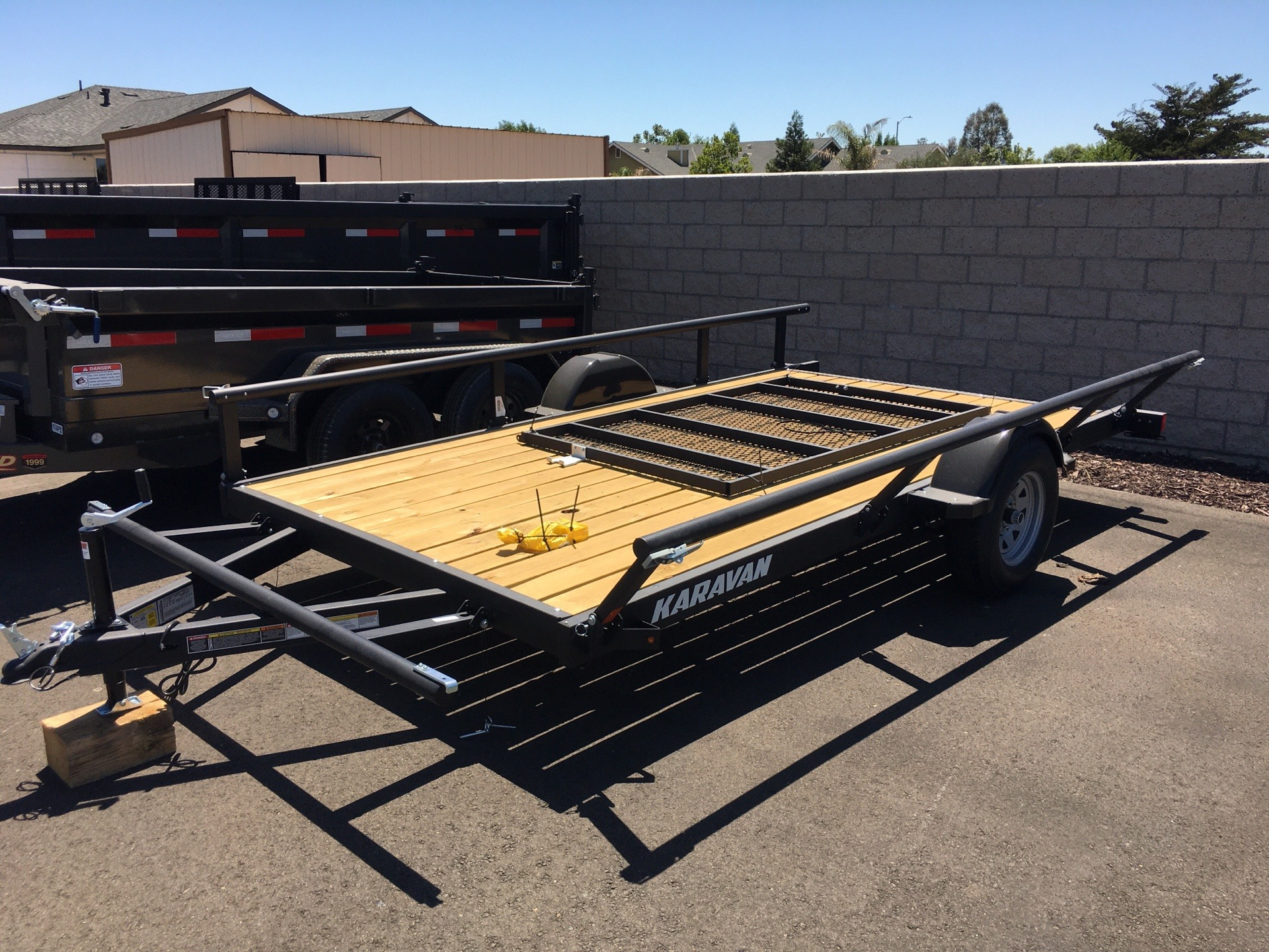 "2020 Karavan Trailers 13' X 82"" UTILITY TRAILER in Paso Robles, California - Photo 2"