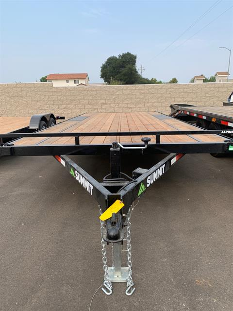 "2021 SUMMIT TRAILER MFG 20' X 102"" TA DECKOVER TRAILER in Paso Robles, California - Photo 1"