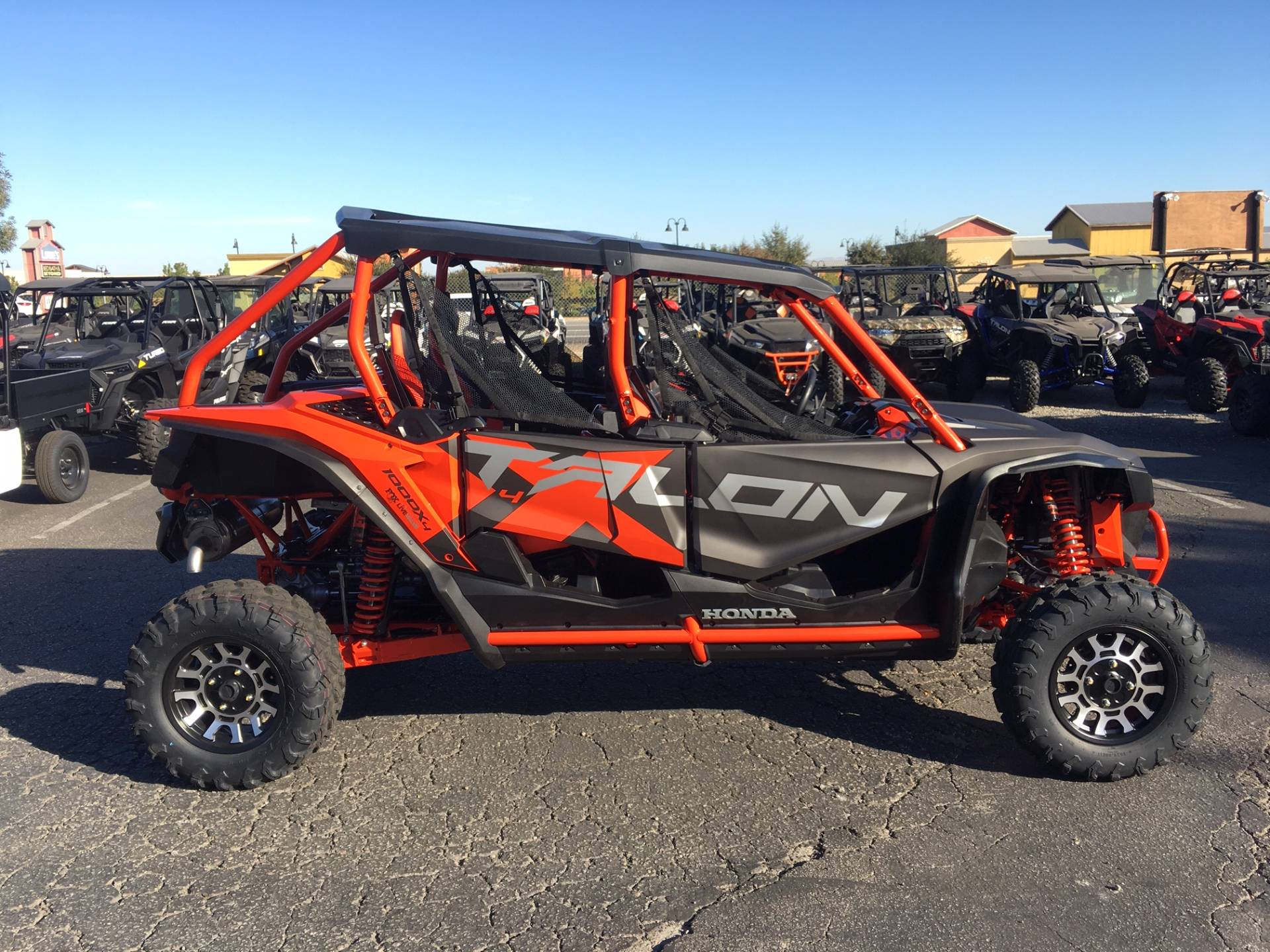 2020 Honda Talon 1000X-4 FOX Live Valve in Paso Robles, California - Photo 2