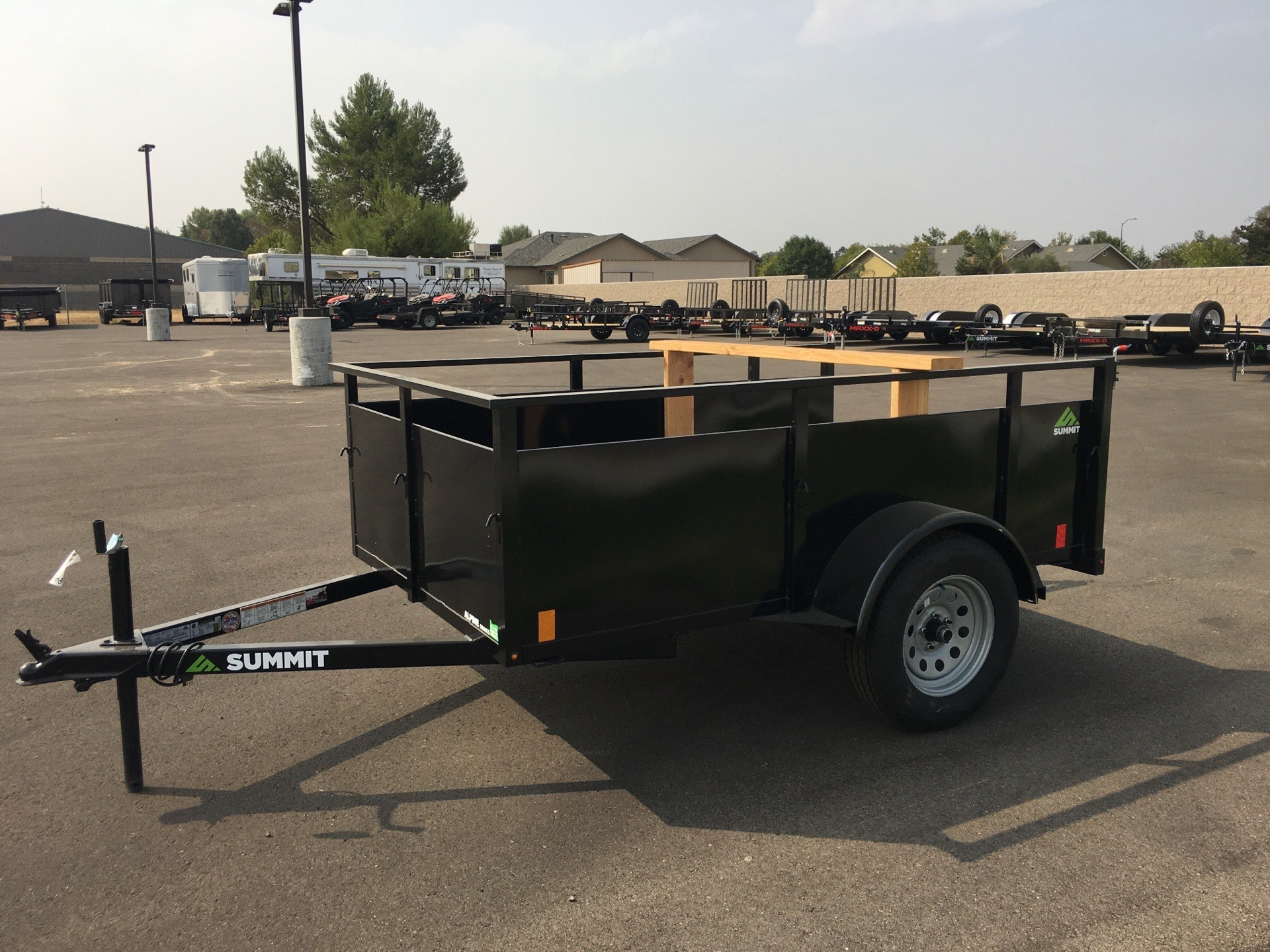 2021 SUMMIT TRAILER MFG  8' X 5' ALPINE SA UTILITY in Paso Robles, California - Photo 1