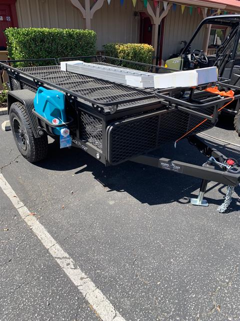 2019 JUMPING JACK TRAILERS  4x6 BLACKOUT W / 6' TENT in Paso Robles, California - Photo 2