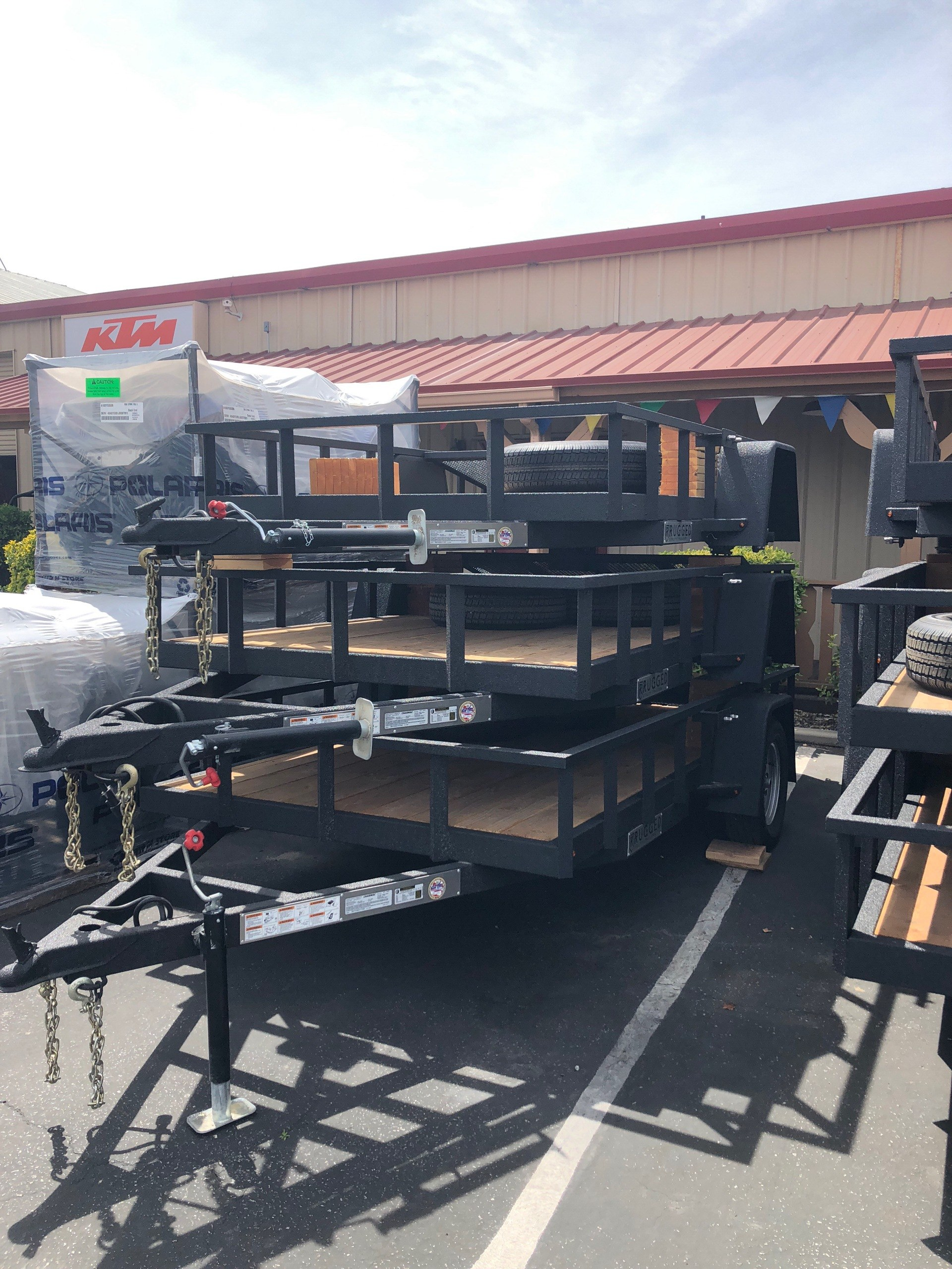 2018 Charmac Trailers 10' X 6' RUGGED STEEL UTILITY TRAILER in Paso Robles, California