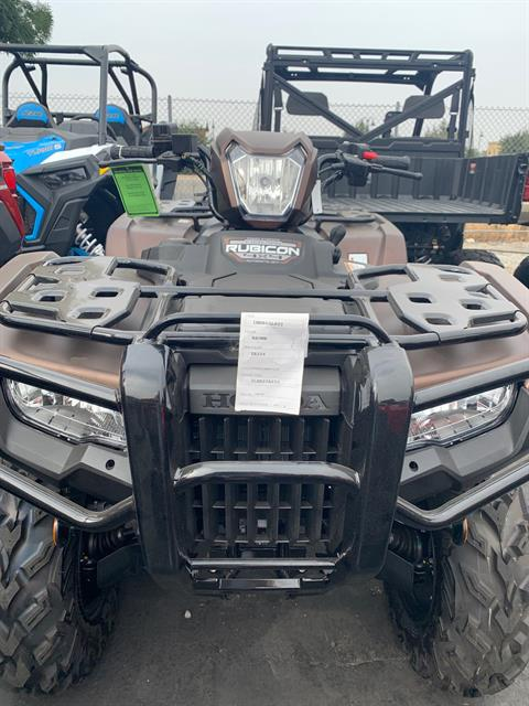 2021 Honda FourTrax Foreman Rubicon 4x4 Automatic DCT EPS Deluxe in Paso Robles, California - Photo 1