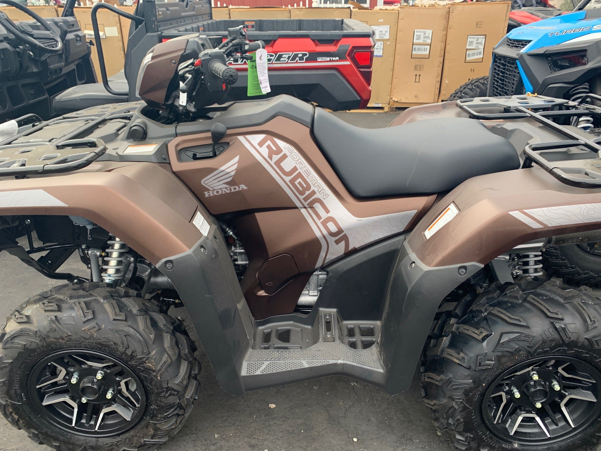 2021 Honda FourTrax Foreman Rubicon 4x4 Automatic DCT EPS Deluxe in Paso Robles, California - Photo 3