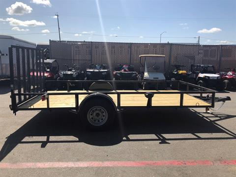 "2018 MAXXD TRAILERS 14' X 83"" SA UTILITY TRAILER  in Paso Robles, California"