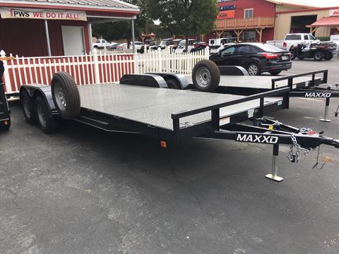 "2019 MAXXD TRAILERS 20' X 83"" CHANNEL CAR HAULER in Paso Robles, California"